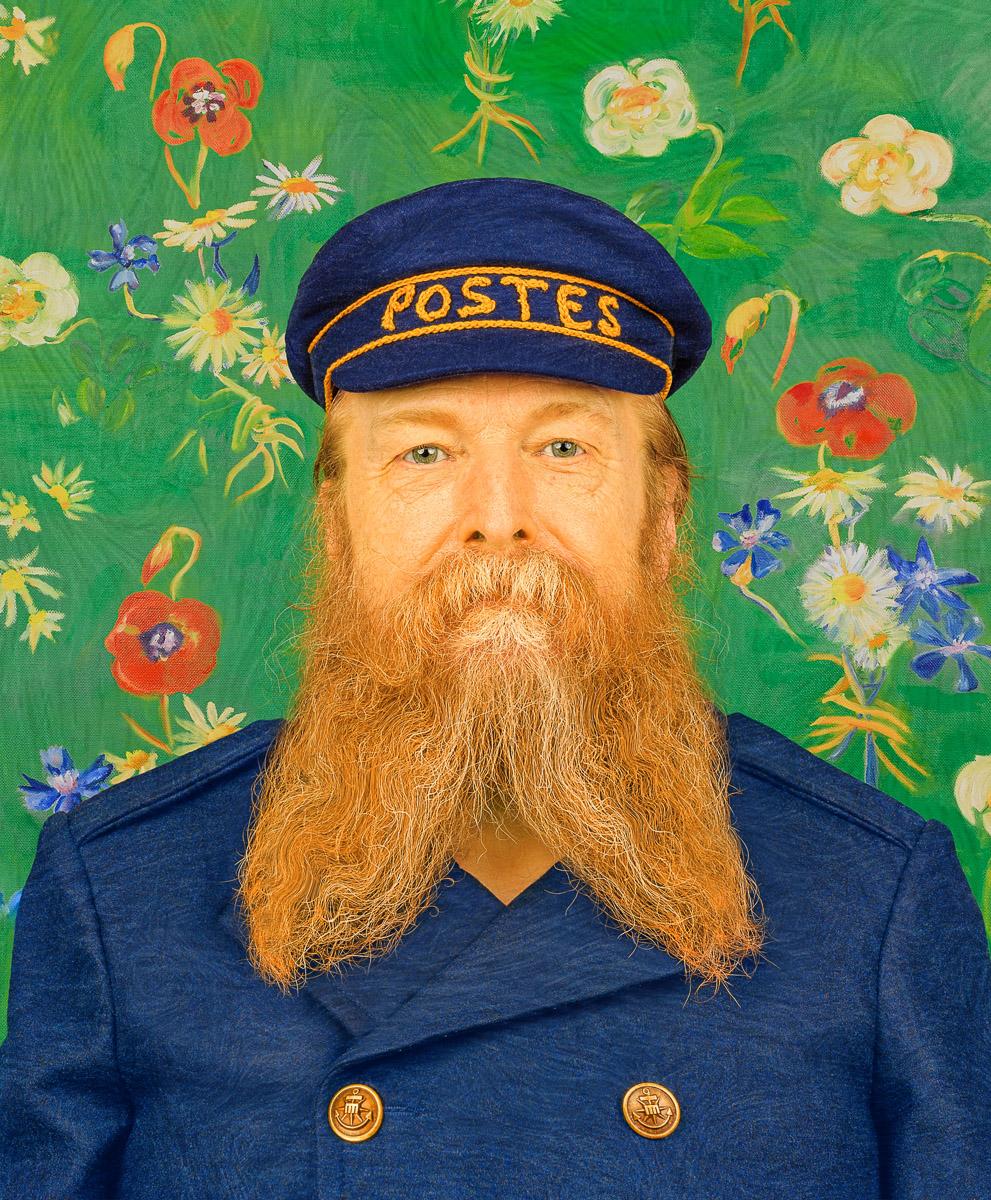 The Postman Joseph Roulin by Van Gogh